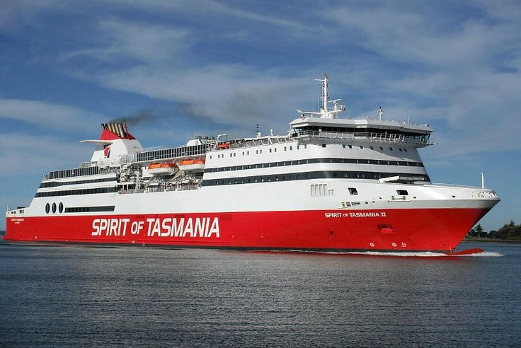 Catching the 'Spirit of Tasmania' - taking the ferry from mainland Australia to Tasmania