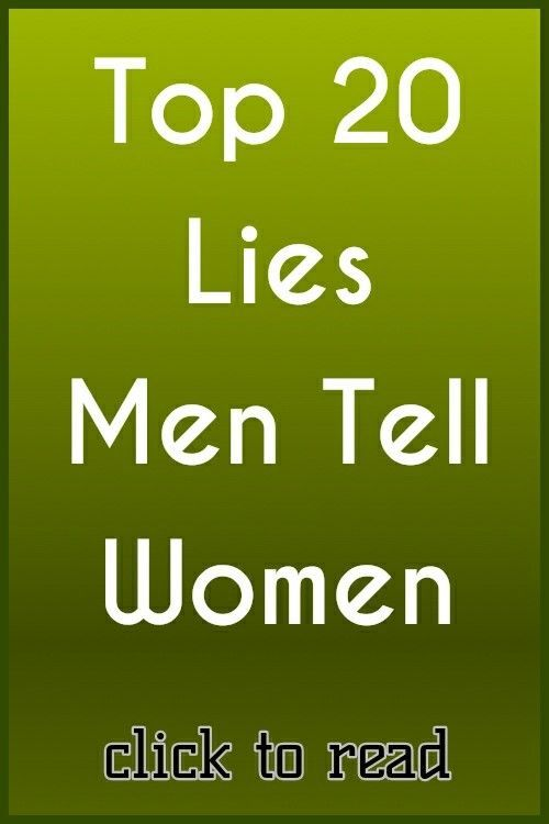 dating a man who lies