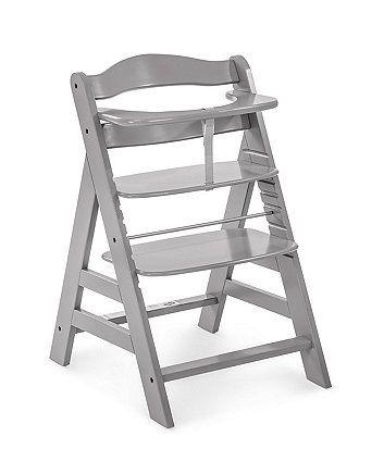 Hauck Alpha Wooden Highchair White Wooden High Chairs Cool
