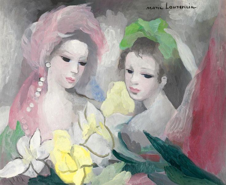 Extrêmement Les 216 meilleures images du tableau Marie Laurencin sur Pinterest  XK89