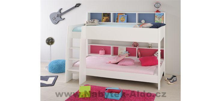Nádherná dětská patrová postel