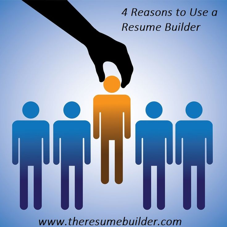 reasons to use a resume builder tells 4 key reason why you should use an free resume builderonline - Free Resume Help Online