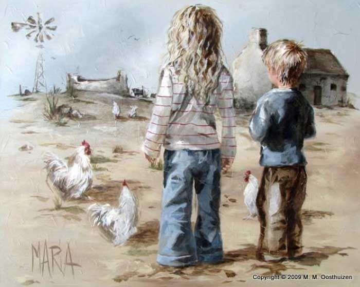 On the farm maria