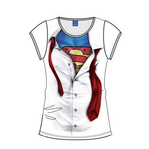 Superman T-Shirt femme Costume ref 217