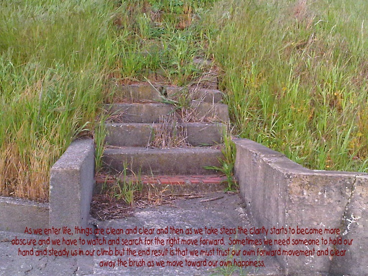 Where do the steps lead you?:  Plaques