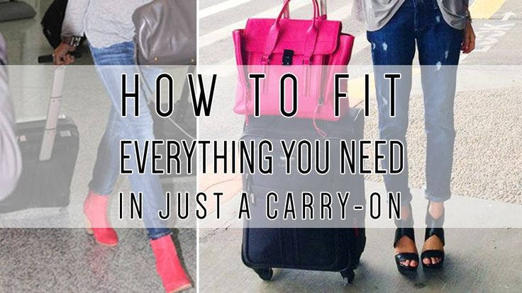 How to Pack a Carry-On in 5 Minutes or Less