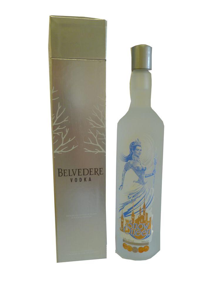 Belvedere Snow Queen Vodka - #KIngsFineFood - Garlanded with numerous international awards, #SnowQueen is a premium five-times-distilled #vodka with a distinctivley smooth, velvety taste.