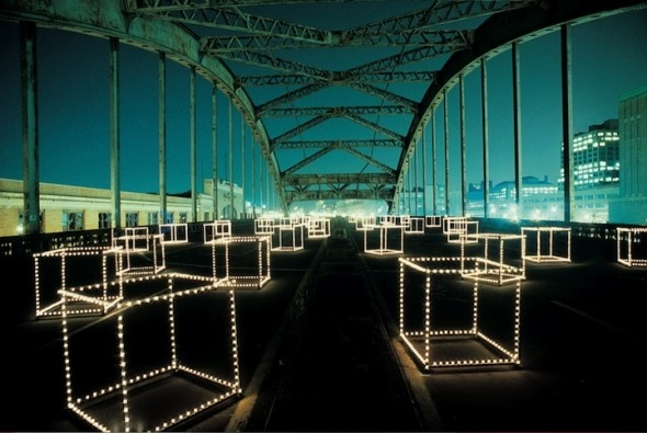 1970′s Beautiful Light Installations in New York | Creative Greed