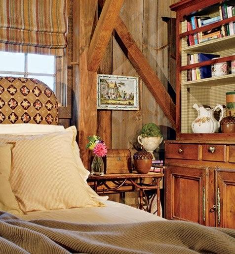Love the rustic roman shade!  www.budgetblinds.com/walnutcreek
