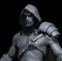 Proyecto final del curso Modelado de personajes en 3D. . Un proyecto de 3D de jmrodenes - 01.05.2016