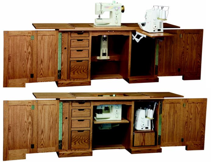 Sewing Machine Cabinet Plans : Sewing Machine Cabinet Plans Free - WoodWorking Projects & Plans