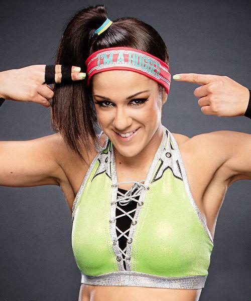 The fantastic wwe women's raw champion Bayley.