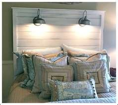 pinterest cottage headboards | Beachy Cottage Headboard | Rustic Charm