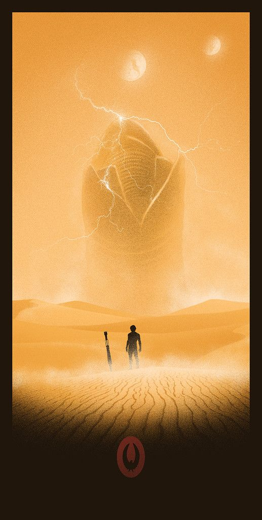 Marko Manev – Shai-Hulud http://www.geek-art.net/influences-marko-manev-matt-ferguson-art-show-bottleneck-gallery/