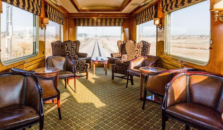 The Blue Train Observation car