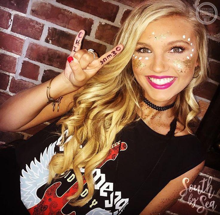 Chi Omega | Chi O | Rock On | Rock and Roll Recruitment | Summer Sorority Fashion | South by Sea | Greek Tee Shirts | Greek Tank Tops | Custom Apparel Design | Custom Greek Apparel | Sorority Tee Shirts | Sorority Tanks | Sorority Shirt Designs