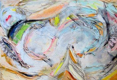 """Saatchi Online Artist Anna Corti; Collage, """"espansione"""" #art"""