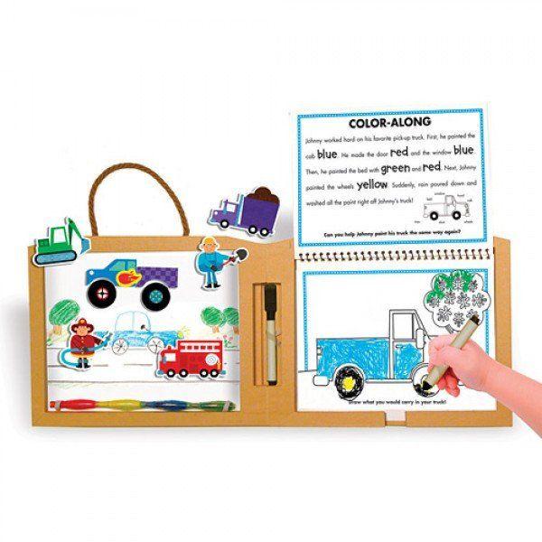 GREEN START Create Play Draw Truck
