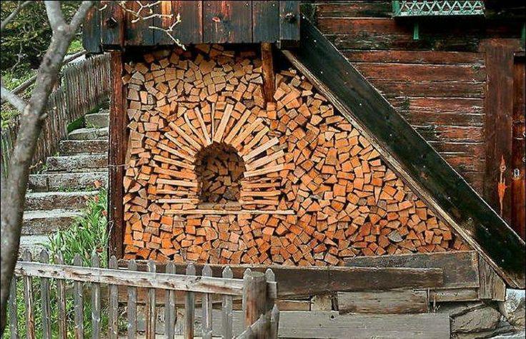 Woodpile as an art / Puuriida ladumise kunst & The 20 best Woodpile / Puuriit images on Pinterest | Firewood ...