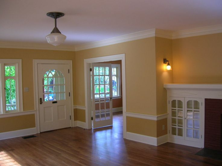 Interior House Painting Image    Highlighting Doors, Windows, Trim  Excellent Tutorial W/diagrams.