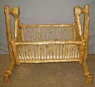 rustic baby cradles - Bing Images