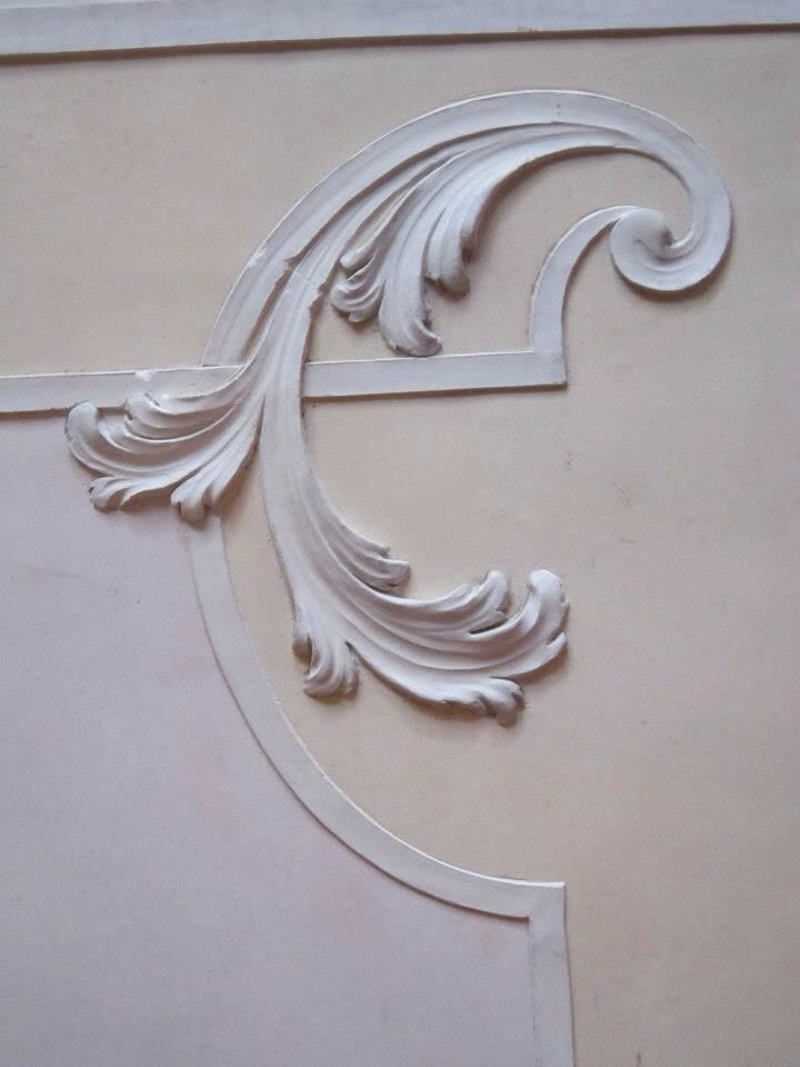 simple acanthus stem & scroll