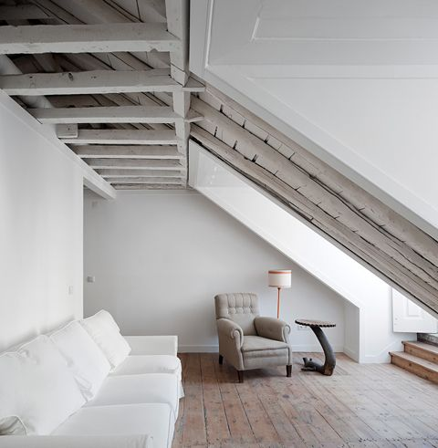 Portuguese Tile, Ceilings Beams, Interiors Design, Ceilings Art, White Decor, Loft Interior, Wood Ceilings, Rustic Modern, Modern Interiors
