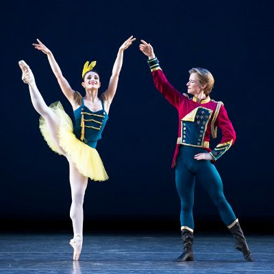 Sarah Lane and Daniil Simkin in the pas de deux from Stars and Stripes    #Ballet #NewYork   © Gene Schiavone