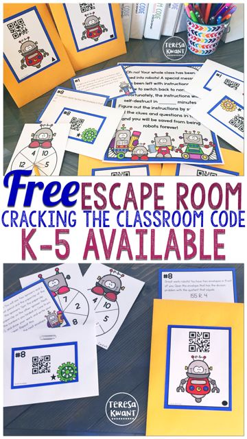 This Is A Free Escape Room Game For Your Classroom Games