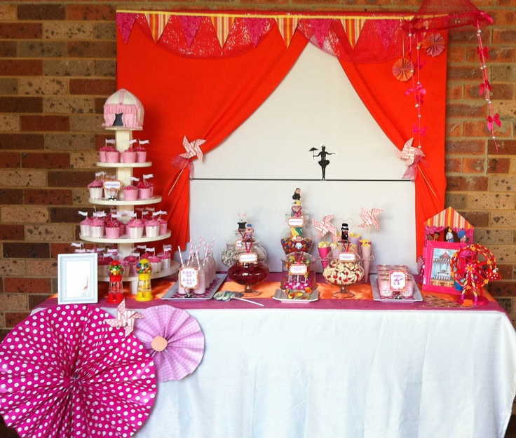 Candy For Baby Shower Ideas: 62 Best Images About Circus / Carnaville Theme Party On