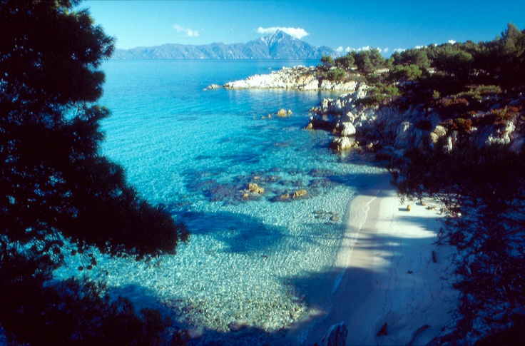 Another beautiful picture o from Halkidiki - Kavourotrypes in Sithonia