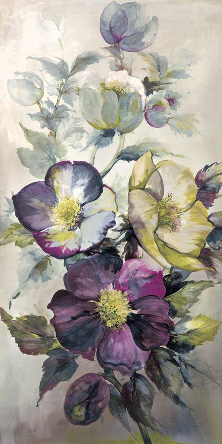#wallpaper #floral #watercolour