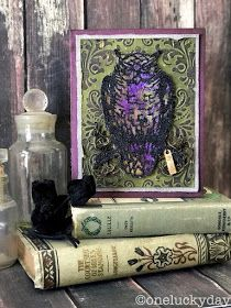 One Lucky Day: Ornate Owl Card