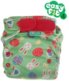 The new #Totsbots Easyfit V4 Easter design by #Frugi is coming soon and you can pre-order from the Babi Pur website now!