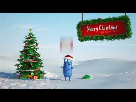 After Effects intro template | Christmas Bobby 2 + Free Download