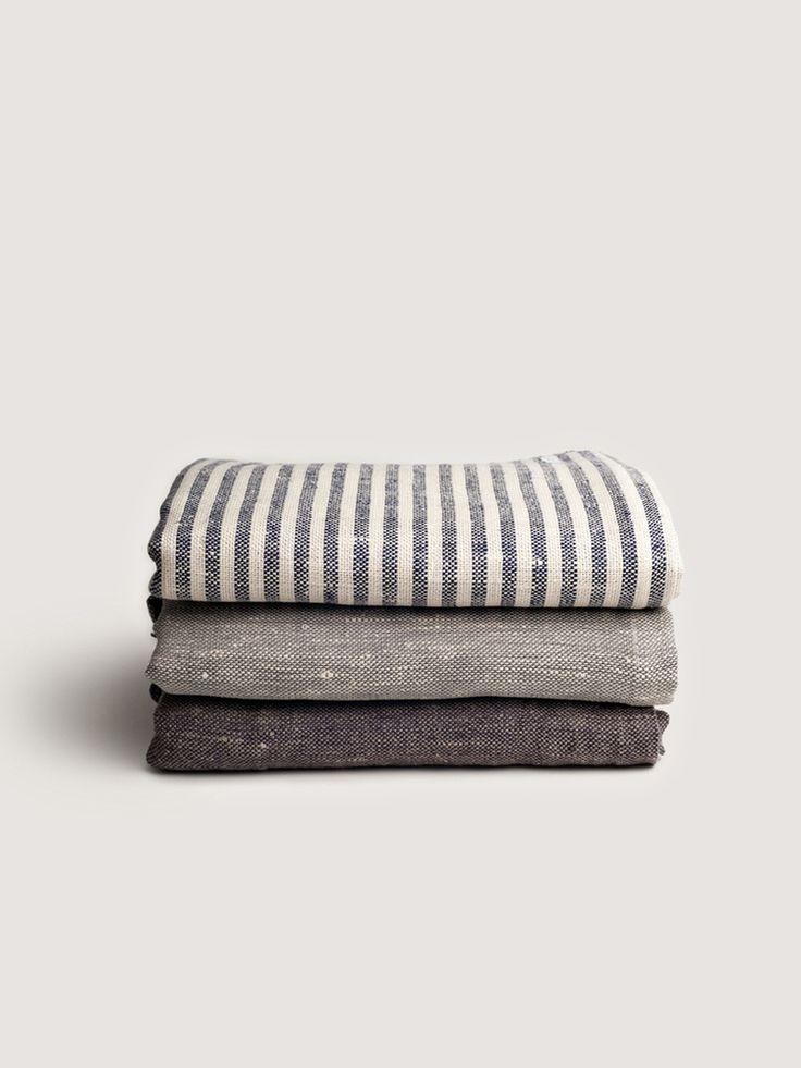 Fog Linen Work via Art&Article, chambray bed linen