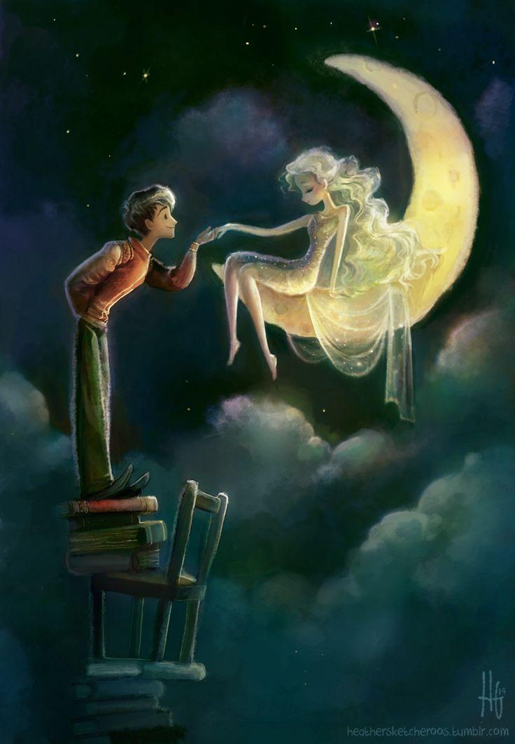 Me enamoré como se enamoró del sol la Luna... aun sabiendo que jamás podrían estar juntos...
