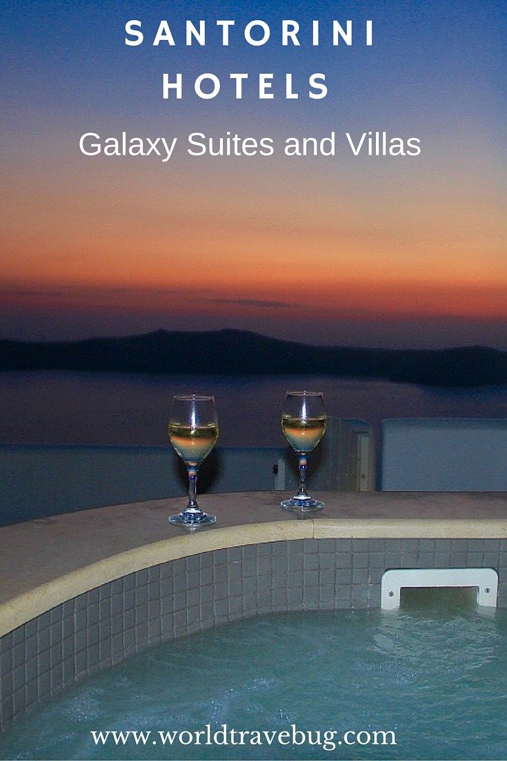 Imagine watching one those famous Santorini sunsets from the privacy of your own jacuzzi…whilst sipping a glass of champagne!
