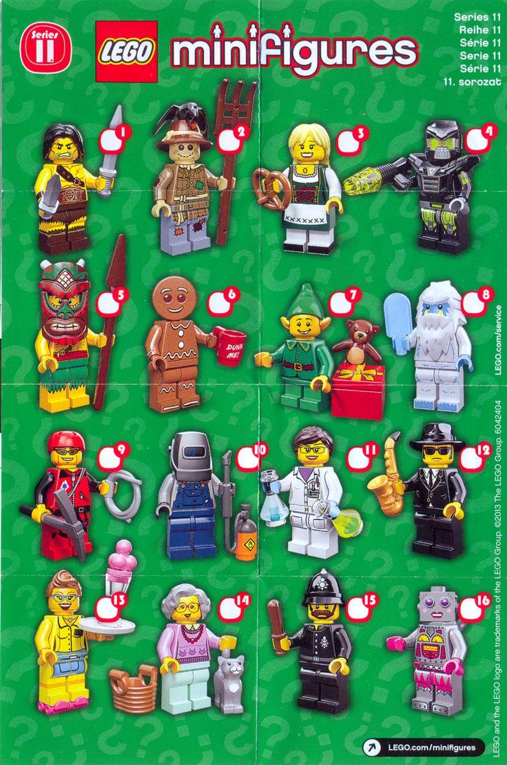 lego minifigures series 11 | Gavin's Lego Sets | Pinterest