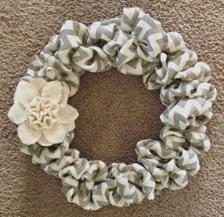 I've been itching to make a new wreath lately. I headed down to my local Hobby Lobby and purchased a whopping three items for this adorab...