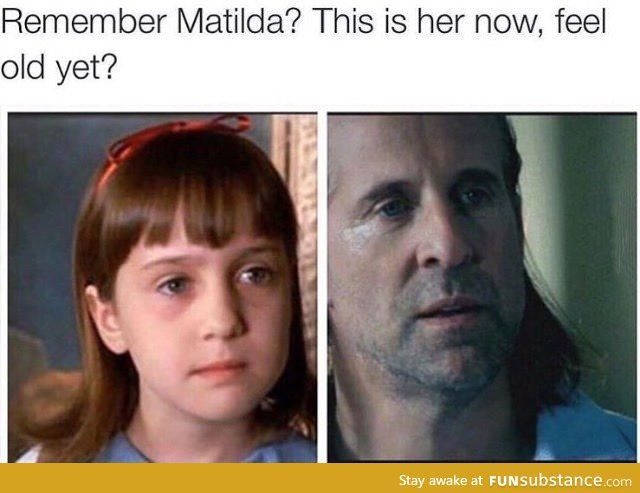 Feeling old yet?