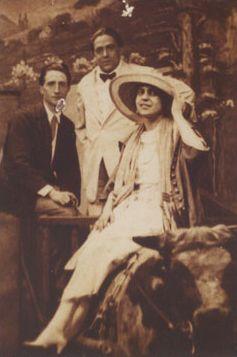 Beatrice bois avec Marcel Duchamp - le 21 Juin 1917 à Coney Island