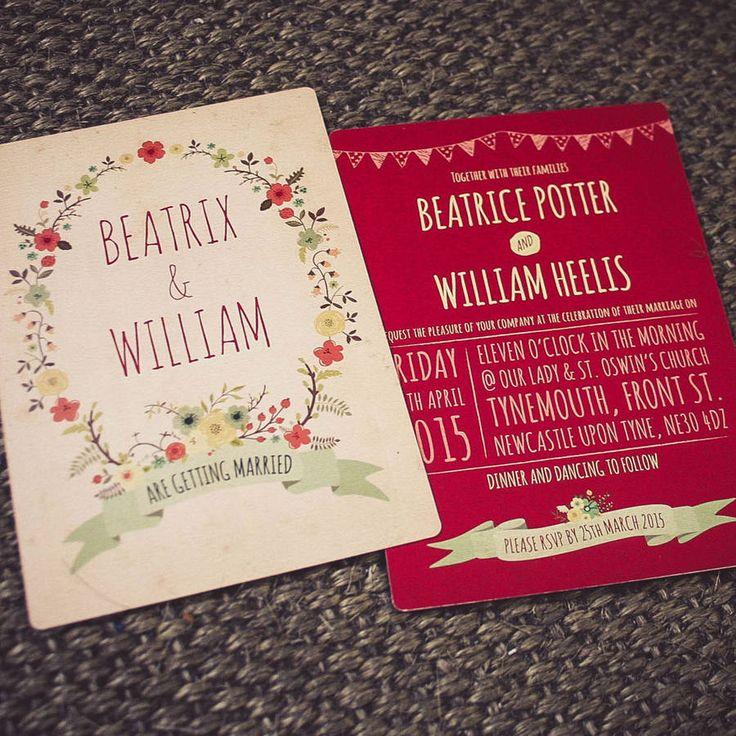 50 best Wedding invitation ideas images on Pinterest | Invitation ...