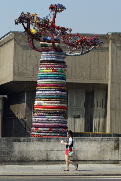 The Pirate Technics Sculpture Under The Baobab Is Installed At The Southbank Centre - Pictures - Zimbio