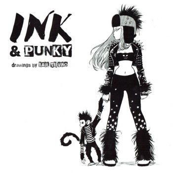 Illustration :: Contemporary Illustrators :: Ink & Punky: Drawings by Raul Trevino - Signed