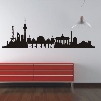 deko-shop-24.de-Wandtattoo-Skyline Berlin