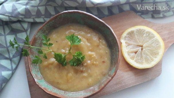 Cuketová polievka s červenou šošovicou