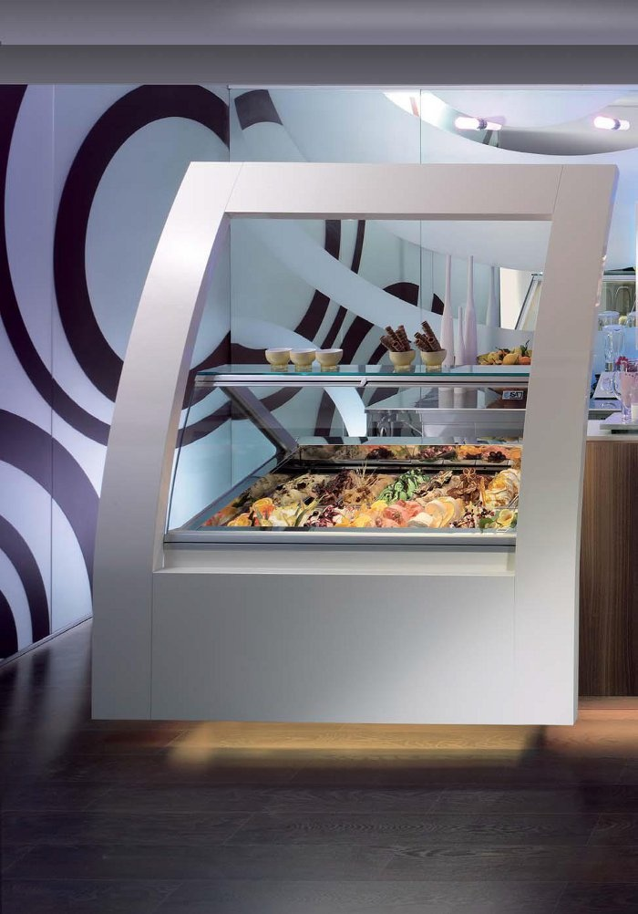 Frame by ISA http://www.isaitaly.com/it/arredamento/frame #arredamento  #interior #design #bar #gelaterie #pasticcerie #gelato #dolci