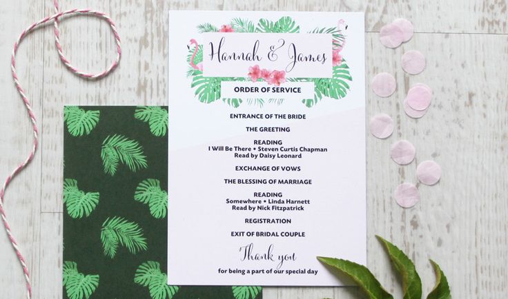 Best 25 order of service template ideas on pinterest for Christian wedding order of service template