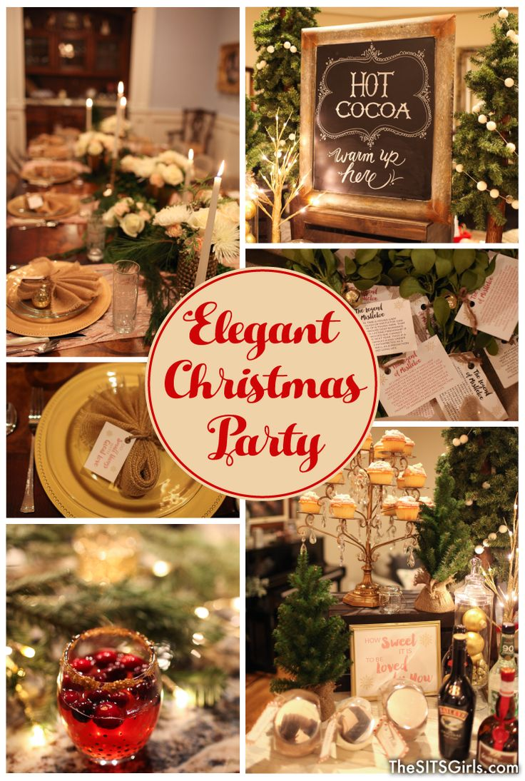 Christmas party decoration ideas kids - Elegant Christmas Decor Plan An Elegant Christmas Party This Year With These Beautiful Ideas For